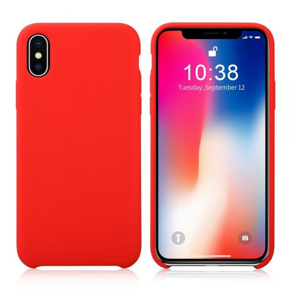 کاور سیلیکونی آیفون Apple iPhone X/Max XS Silicone Case -xs max